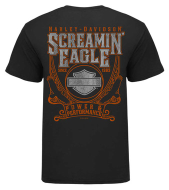Harley-Davidson Mens Screamin' Eagle Adventure Short Sleeve Tee HARLMT0287 - Wisconsin Harley-Davidson