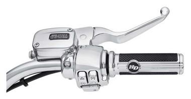 Harley-Davidson Clutch Bracket & Master Cylinder Reservior Kit - Chrome 41700480 - Wisconsin Harley-Davidson
