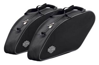 Harley-Davidson Saddlebag Travel-Paks, Fits '18-later FLSB Models 93300110 - Wisconsin Harley-Davidson
