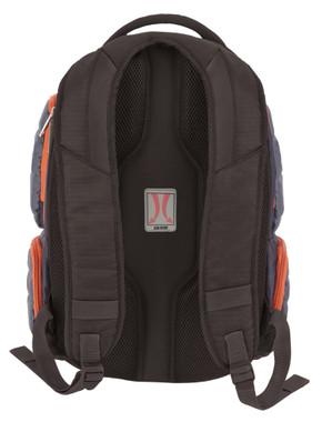 Harley-Davidson Quilted Multi-Zippered Pocket Backpack 99319 GRAY/RUST - Wisconsin Harley-Davidson