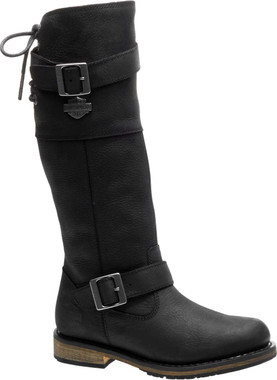 Harley-Davidson Women's Kirtland 14-Inch Motorcycle Boots D87155 D87156 - Wisconsin Harley-Davidson