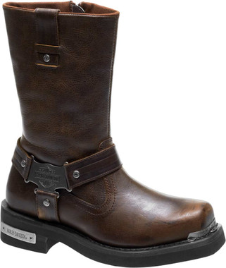 Harley-Davidson Men's Charlesfort Black or Brown Motorcycle Boots D96149 D96150 - Wisconsin Harley-Davidson