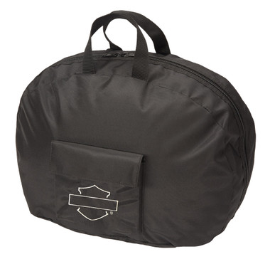 Harley-Davidson Bar & Shield Half Helmet Carry Bag - Black 99427-MIDNIGHT - Wisconsin Harley-Davidson