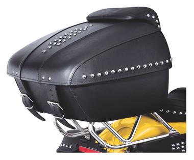 Harley-Davidson Tour-Pak Luggage - Leather Heritage Classic Styling 53209-09 - Wisconsin Harley-Davidson