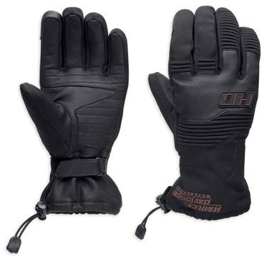 Harley-Davidson Men's Hazen Thinsulate Touchscreen Gloves, Black 97140-19VM - Wisconsin Harley-Davidson
