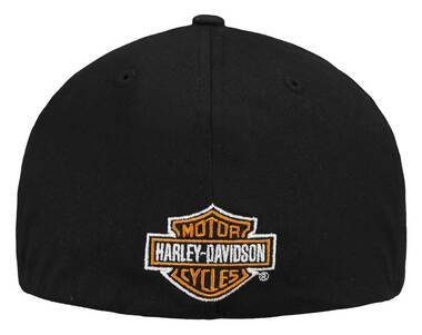 Harley-Davidson Men's Screamin' Eagle Eliminator Flat Bill Flex Cap HARLMH0333 - Wisconsin Harley-Davidson