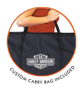 Harley-Davidson Genuine Oil Can Bar & Shield Bean Bag Toss, Black 66236 - Wisconsin Harley-Davidson