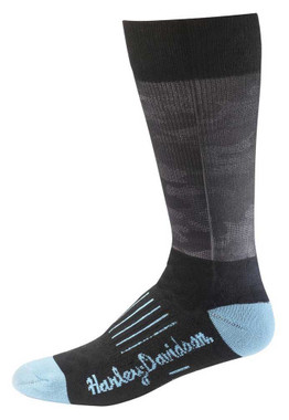 Harley-Davidson Women's Printed Camo Performance Riding Socks D89227170-400 - Wisconsin Harley-Davidson