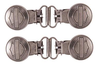 Harley-Davidson Men's Bar & Shield Mini Boot Clip, Sold In Pair HDMBS11600 - Wisconsin Harley-Davidson