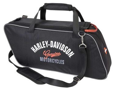 Harley-Davidson Ripstop Honeycomb Tour Pack, 19 x 9 x 4.75 inches 99306-BLACK - Wisconsin Harley-Davidson