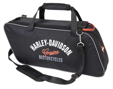 Harley-Davidson Ripstop Honeycomb Tour Pack, 19 x 9 x 4.75 inches 99306-BLACK - Wisconsin Harley-Davidson