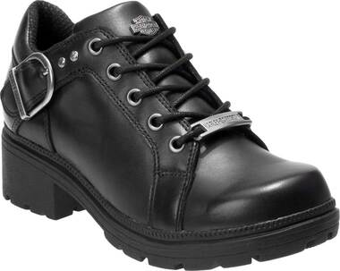 Harley-Davidson Women's Rovana 3-Inch Black Casual Ankle Boots D84407 - Wisconsin Harley-Davidson
