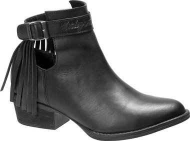 Harley-Davidson Women's Amory 4.25-Inch Black or Brown Casual Ankle Boots D84417 - Wisconsin Harley-Davidson