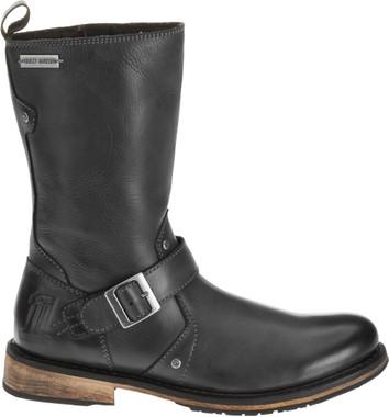 Harley-Davidson Men's Brendan 10- Inch Boots, Gray/Black or Brown D93194 D93195 - Wisconsin Harley-Davidson