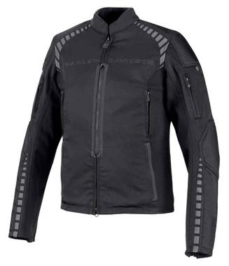 Harley-Davidson Men's Geyser Stretch Slim Fit Riding Jacket, Black 98391-19VM - Wisconsin Harley-Davidson