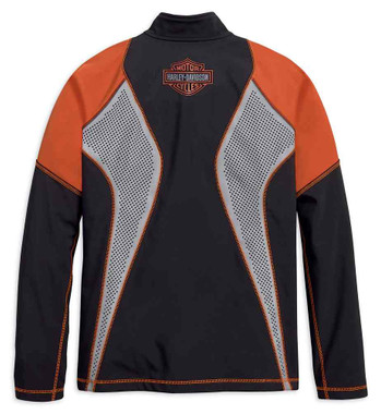 Harley-Davidson Men's Performance Soft Shell Colorblocked Jacket 99216-19VM - Wisconsin Harley-Davidson