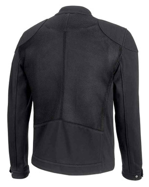 Harley-Davidson Men's 3D Mesh Accent Casual Slim Fit Jacket, Black 98419-19VM - Wisconsin Harley-Davidson