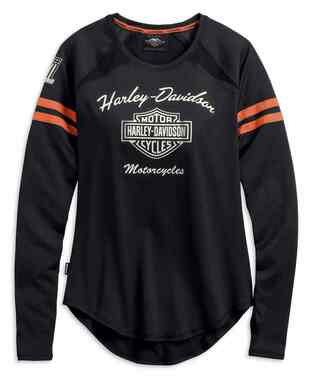 Harley-Davidson Women's Performance Top w/ Coolcore Tech, Black 99225-19VW - Wisconsin Harley-Davidson