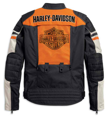 Harley-Davidson Men's Metonga Switchback Lite Riding Jacket, Black 98393-19VM - Wisconsin Harley-Davidson