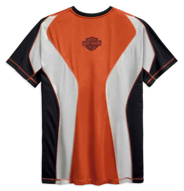 Harley-Davidson Men's Performance Tee w/ Coolcore Technology 99199-19VM - Wisconsin Harley-Davidson