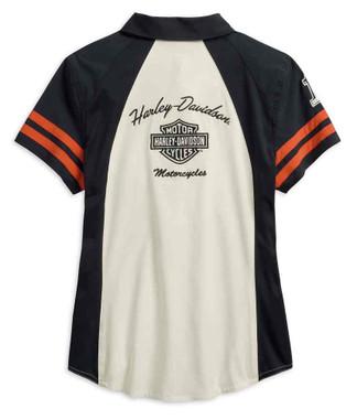Harley-Davidson Women's Performance Woven Shirt w/ Coolcore Tech 99220-19VW - Wisconsin Harley-Davidson