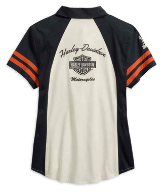 Harley-Davidson Women's Performance Woven Shirt w/ Coolcore Tech 99220-19VW - Wisconsin Harley-Davidson