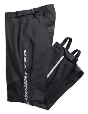 Harley-Davidson Men's FXRG Waterproof & Breathable Rain Pant, Black 98374-19VM - Wisconsin Harley-Davidson