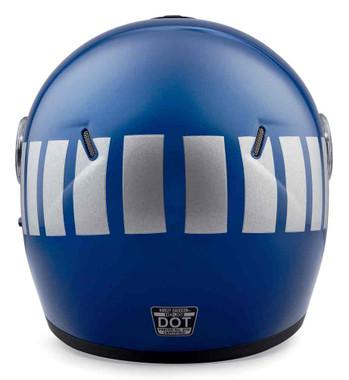 Harley-Davidson Men's Myer J08 Fiberglass Modular Helmet, Fathom Blue 98373-19VX - Wisconsin Harley-Davidson