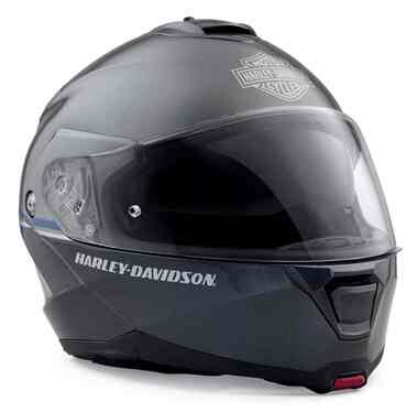 Harley-Davidson Men's Capstone Sun Shield H24 Modular Helmet, Steel 98357-19VX - Wisconsin Harley-Davidson
