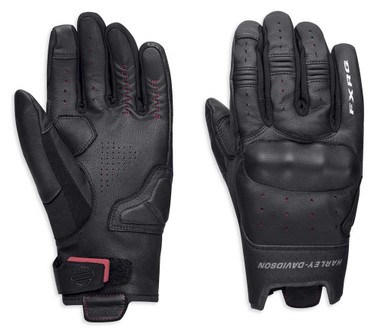 Harley-Davidson Men's FXRG Lightweight Full-Finger Gloves, Black 98387-19VM - Wisconsin Harley-Davidson