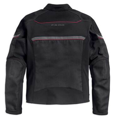 Harley-Davidson Men's FXRG Mesh Slim Fit Riding Jacket, Black 98389-19VM - Wisconsin Harley-Davidson