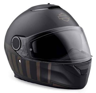 Harley-Davidson Men's Camelot Sun Shield S08 Full-Face Helmet, Black 98352-19VX - Wisconsin Harley-Davidson