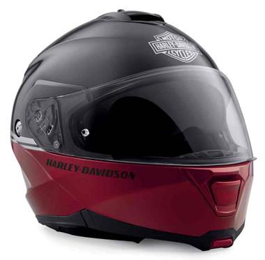 Harley-Davidson Men's Capstone Sun Shield H24 Modular Helmet, Red 98356-19VX - Wisconsin Harley-Davidson