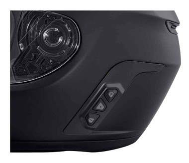 Harley-Davidson Men's Boom! Audio N02 Full-Face Helmet, Matte Black 98365-19VX - Wisconsin Harley-Davidson