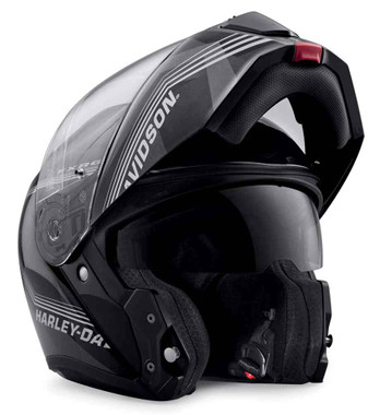 Harley-Davidson Men's FXRG Sun Shield H29 Modular Helmet, Black 98359-19VX - Wisconsin Harley-Davidson