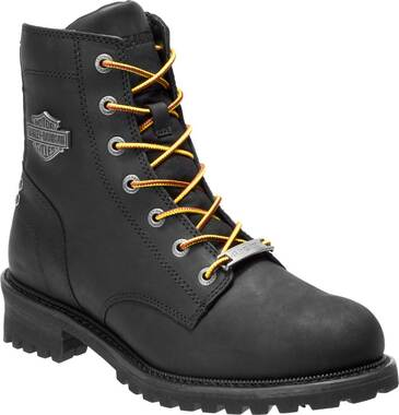 Harley-Davidson Men's Hedman Black or Brown Motorcycle Boots D93551 D93552 - Wisconsin Harley-Davidson