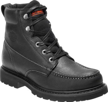 Harley-Davidson Men's Markston Black, Brown, or Grey Motorcycle Boots D93529 - Wisconsin Harley-Davidson
