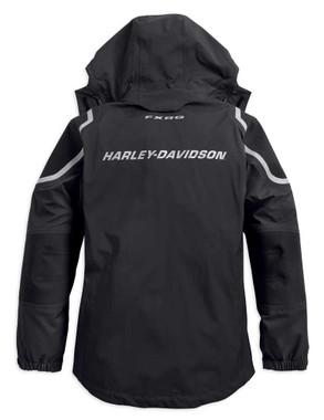 Harley-Davidson Women's FXRG Waterproof Two-Way Zip Rain Jacket 98342-19VW - Wisconsin Harley-Davidson