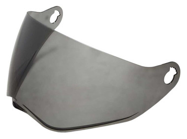 Harley-Davidson Bell B15 Replacement Face Shield, Dark Smoke Tint 98200-18VR - Wisconsin Harley-Davidson