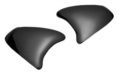 Harley-Davidson Arai VZ-RAM Replacement Side Plates - Black 98122-19VR - Wisconsin Harley-Davidson