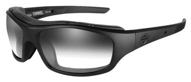 Harley-Davidson Men's Tunnel Sunglasses, LA Gray Lens/Matte Black Frame HDTNL05 - Wisconsin Harley-Davidson