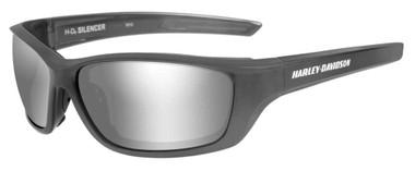Harley-Davidson Mens Silencer Sunglasses, Silver Flash Lenses/Gray Frame HASIL02 - Wisconsin Harley-Davidson