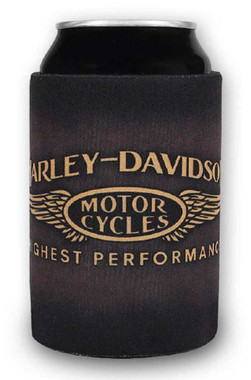 Harley-Davidson Highest Performance H-D Neoprene Can Wrap - Brown CW33668 - Wisconsin Harley-Davidson