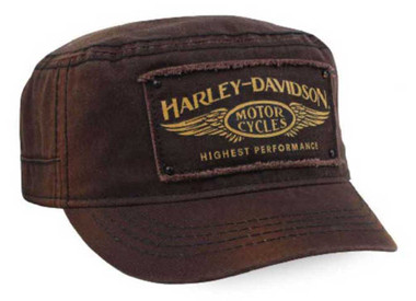 Harley-Davidson Women's Highest Performance Adjustable Back Painters Cap PC33668 - Wisconsin Harley-Davidson