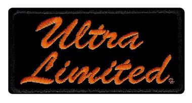 Harley-Davidson Embroidered Ultra Limited Emblem Patch, SM - 4 x 2 in. EM1061642 - Wisconsin Harley-Davidson