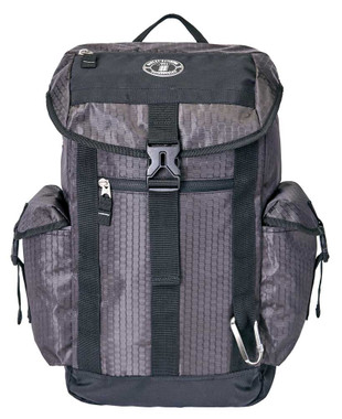 Harley-Davidson Graphite Honeycomb Tech Backpack, Water-Resistant - Gray 99120 - Wisconsin Harley-Davidson