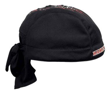 Harley-Davidson Men's Flames Quick Dry Mesh Skull Cap - Black 99435-16VM - Wisconsin Harley-Davidson