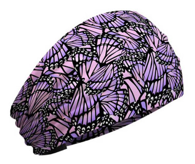 That's A Wrap Women's Monarch Butterfly Wings Knotty Band KB2325-PINK/PURPL - Wisconsin Harley-Davidson