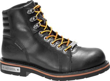 Harley-Davidson Men's Cranstons 5.5-Inch Waterproof Motorcycle Boots, D93584 - Wisconsin Harley-Davidson