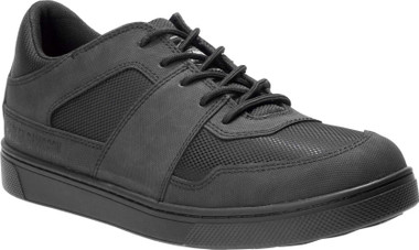 Harley-Davidson Men's Norbeck Black Leather and Mesh Shoes Sneakers D93540 - Wisconsin Harley-Davidson